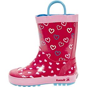 Kamik Cherish Rubber Boots Kinder Rose